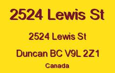 2524 Lewis St 2524 Lewis V9L 2Z1