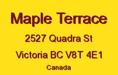 Maple Terrace 2527 Quadra V8T 4E1