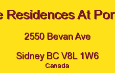 The Residences At Portsid 2550 Bevan V8L 1W6