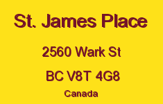 St. James Place 2560 Wark V8T 4G8