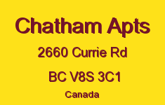 Chatham Apts 2660 Currie V8S 3C1