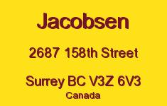 Jacobsen 2687 158TH V3Z 6V3