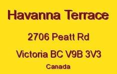 Havanna Terrace 2706 Peatt V9B 3V3