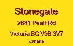Stonegate 2881 Peatt V9B 3V7