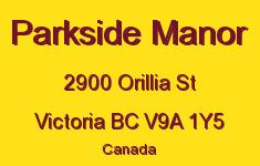 Parkside Manor 2900 Orillia V9A 1Y5