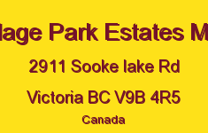 Village Park Estates Mhp 2911 Sooke Lake V9B 4R5