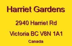 Harriet Gardens 2940 Harriet V8N 1A1