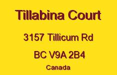 Tillabina Court 3157 Tillicum V9A 2B4