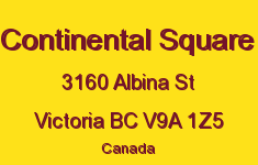 Continental Square 3160 Albina V9A 1Z5