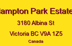 Hampton Park Estates 3180 Albina V9A 1Z5