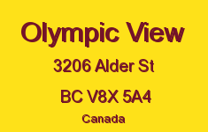 Olympic View 3206 Alder V8X 5A4