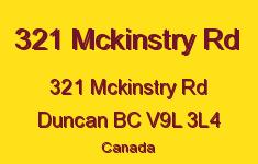 321 Mckinstry Rd 321 McKinstry V9L 3L4
