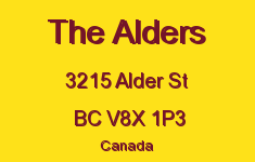 The Alders 3215 Alder V8X 1P3