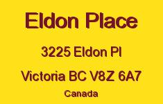 Eldon Place 3225 Eldon V8Z 6A7