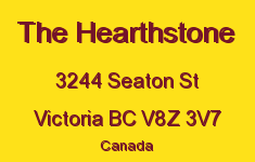 The Hearthstone 3244 Seaton V8Z 3V7