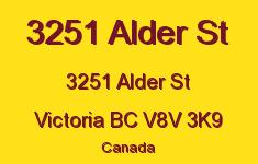 3251 Alder St 3251 Alder V8V 3K9