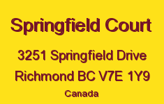 Springfield Court 3251 SPRINGFIELD V7E 1Y9