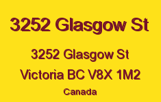 3252 Glasgow St 3252 Glasgow V8X 1M2
