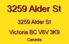 3259 Alder St 3259 Alder V8V 3K9