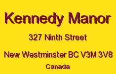 Kennedy Manor 327 NINTH V3M 3V8