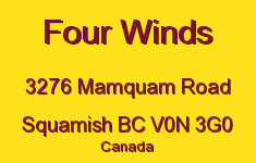 Four Winds 3276 MAMQUAM V0N 3G0