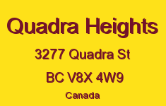 Quadra Heights 3277 Quadra V8X 4W9