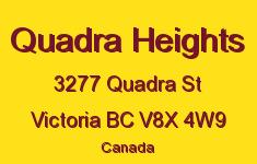 Quadra Heights 3277 Quadra V8X 4W9