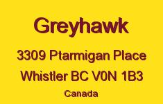 Greyhawk 3309 PTARMIGAN V0N 1B3