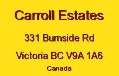 Carroll Estates 331 Burnside V9A 1A6