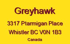 Greyhawk 3317 PTARMIGAN V0N 1B3