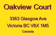 Oakview Court 3363 Glasgow V8X 1M5