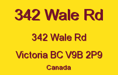 342 Wale Rd 342 Wale V9B 2P9