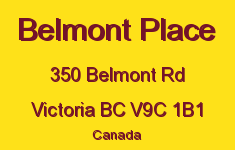 Belmont Place 350 Belmont V9C 1B1