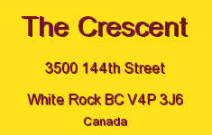 The Crescent 3500 144TH V4P 3J6