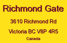 Richmond Gate 3610 Richmond V8P 4R5