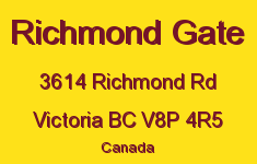 Richmond Gate 3614 Richmond V8P 4R5