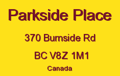 Parkside Place 370 Burnside V8Z 1M1