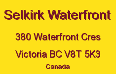 Selkirk Waterfront 380 Waterfront V8T 5K3