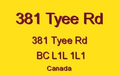 381 Tyee Rd 381 Tyee L1L 1L1