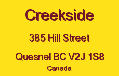 Creekside 385 HILL V2J 1S8
