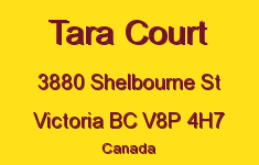 Tara Court 3880 Shelbourne V8P 4H7