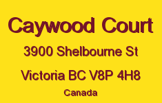 Caywood Court 3900 Shelbourne V8P 4H8