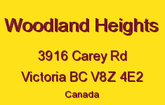 Woodland Heights 3916 Carey V8Z 4E2