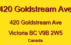 420 Goldstream Ave 420 Goldstream V9B 2W5