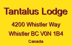 Tantalus Lodge 4200 WHISTLER V0N 1B4