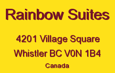 Rainbow Suites 4201 VILLAGE V0N 1B4