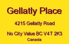 Gellatly Place 4215 GELLATLY V4T 2K3