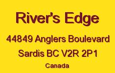 River's Edge 44849 ANGLERS V2R 2P1