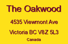 The Oakwood 4535 Viewmont V8Z 5L3