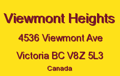 Viewmont Heights 4536 Viewmont V8Z 5L3
